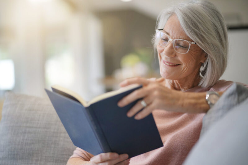 Older women reading