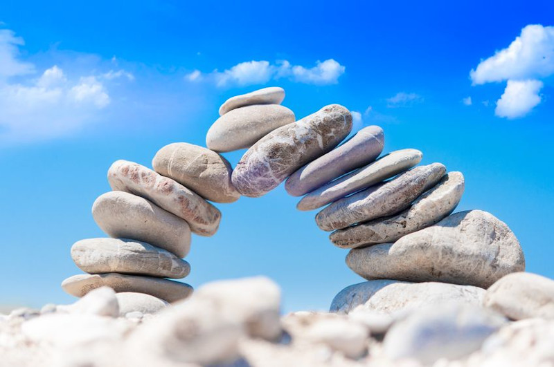 rocks balance and stability
