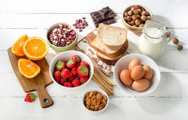 allergy inducing foods