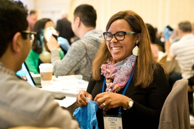 AFMP Participant smiling big