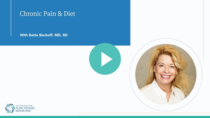 Chronic Pain and Diet with Bette Bischoff, MD, RD