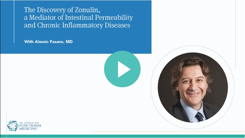 The Discovery of Zonulin a Mediator of Intestinal Permeability and Chronic Inflammatory Diseases with Alessio Fasano, MD