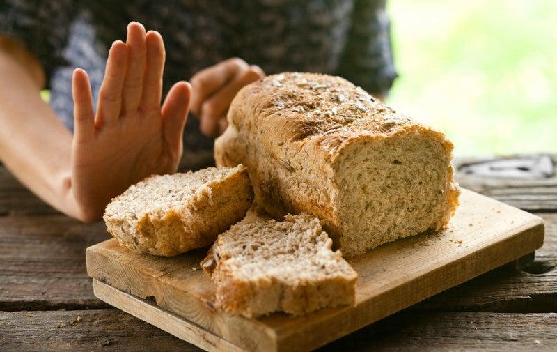 Rejecting bread due to gluten sensitivity