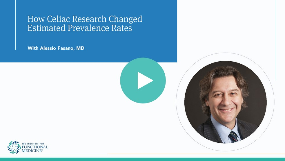 How Celiac Research Changed Estimated Prevalence Rates with Alessio Fasano, MD