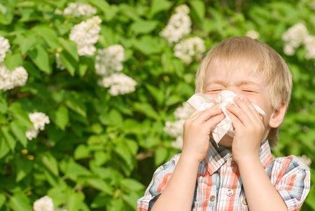Children allergies and antibiotics