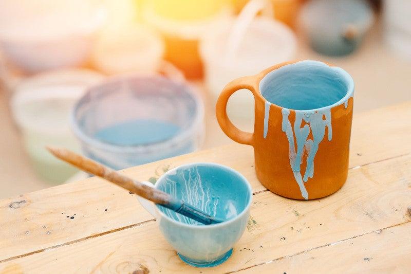 Glazed ceramic cups linked to lead toxicity